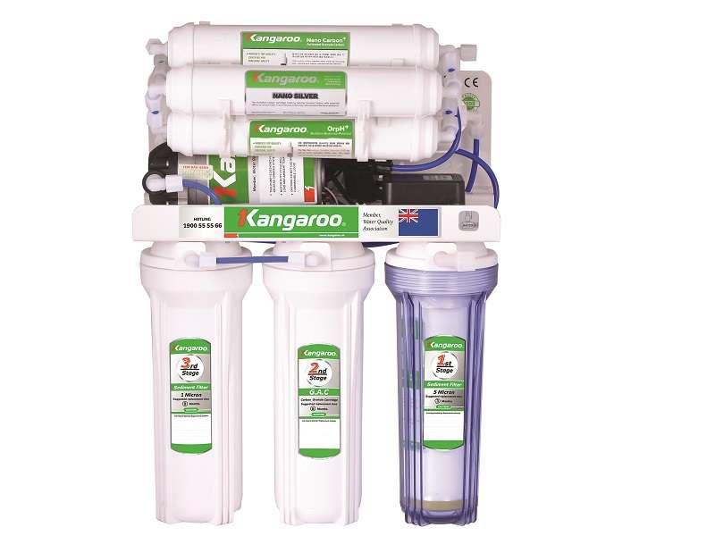 Máy lọc nước Kangaroo Hydrogen KG100HA không vỏ tủ