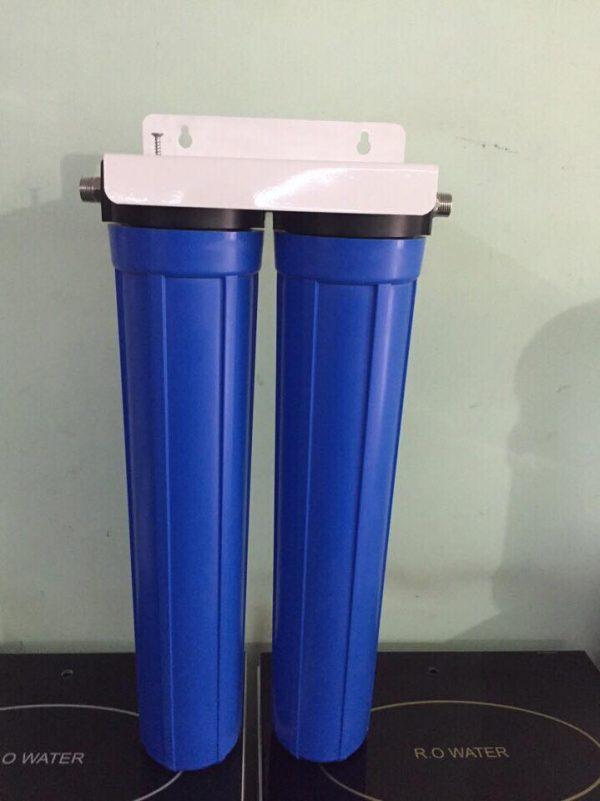 Bộ lọc nước đầu nguồn 2 cấp lọc
